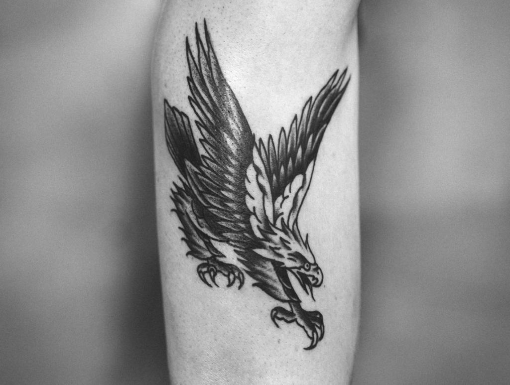 Eagle old school tattoo