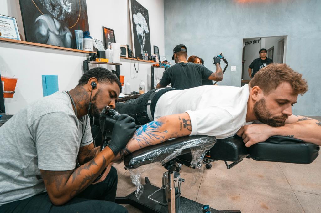 Tattoo shop los angeles