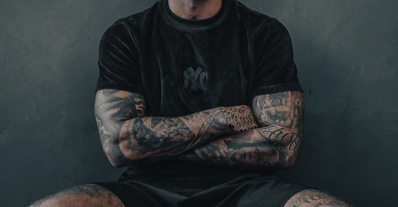 Sleeve tattoo getting a half 101 Half
