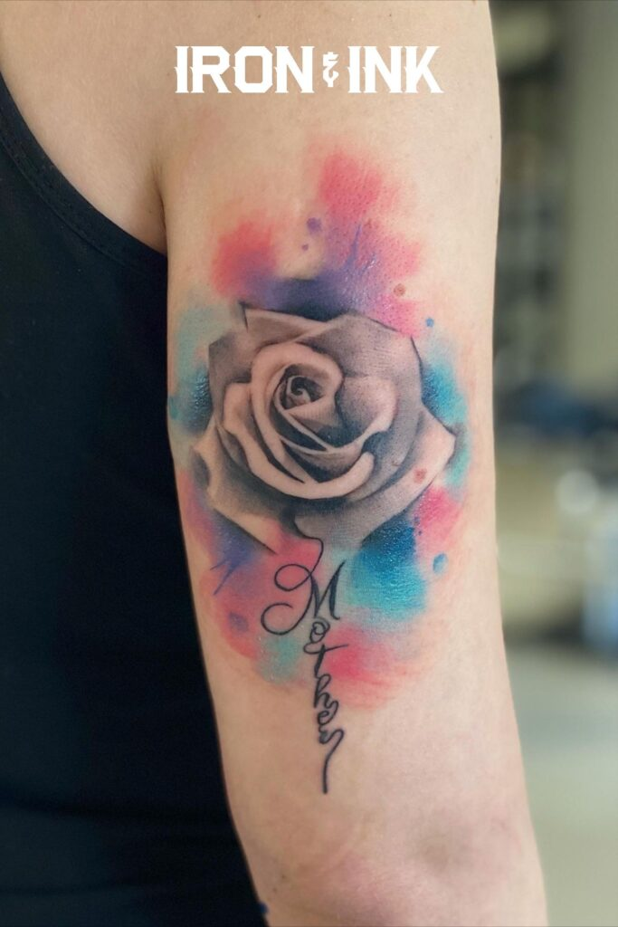Watercolor tattoo 6