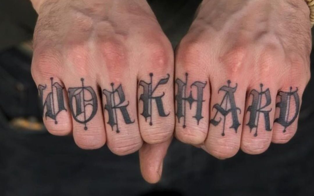 """Hand & Finger Tattoos: All About The """"Job Stoppers"""""""
